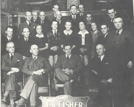 Young Emerson Ralph (Bud) Fisher joins the firm in the 1930's